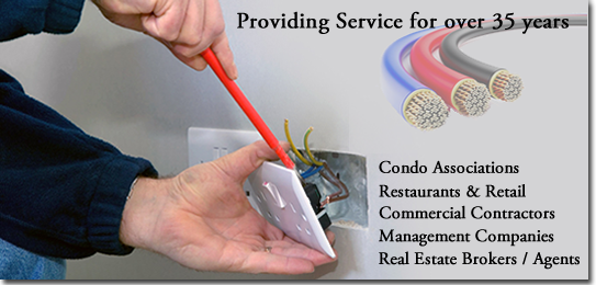 Commercial Electrical Services Offered